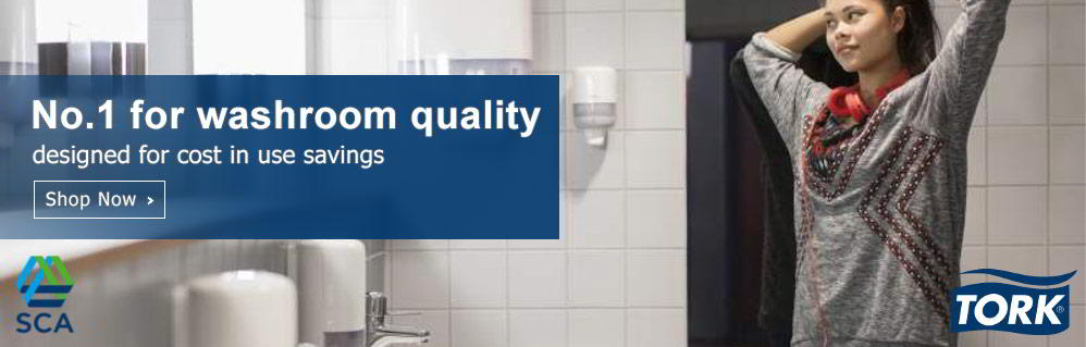No.1 for washroom quality designed for cost in use savings