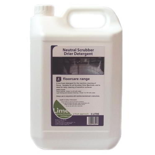 Neutral scrubber dryer detergent 5lt