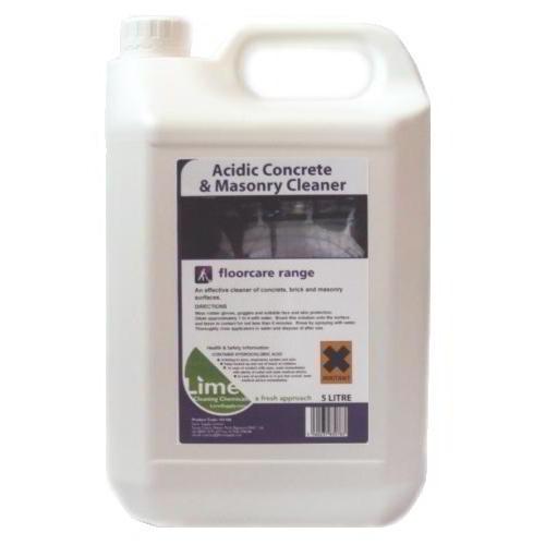 Acidic concrete & masonry cleaner 5lt