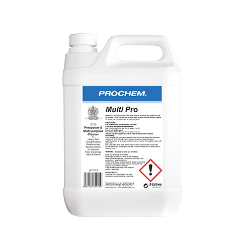 Prochem Multi Pro Pre – spotter & traffic lane carpet cleaner 5 Litre  S709-05