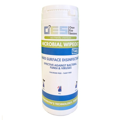 Wipeout 1Tab Daily use Anti-microbial sanitiser & cleaner (100)