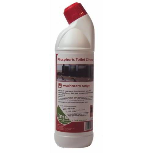 Phosphoric toilet cleaner (stainless steel safe) 1lt