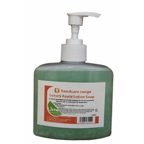 Apple lotion soap 250ml pump