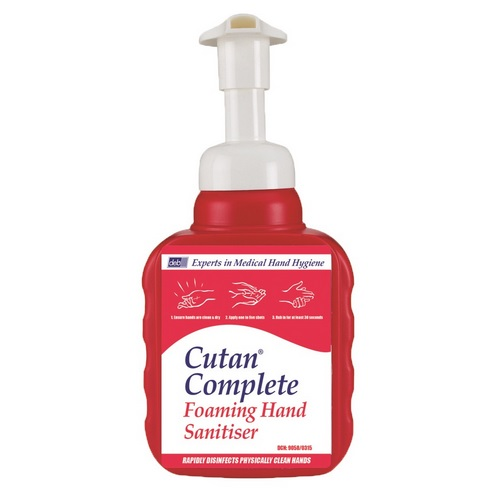 Deb Cutan hand foaming sanitiser 400ml pump bottle CFS400P