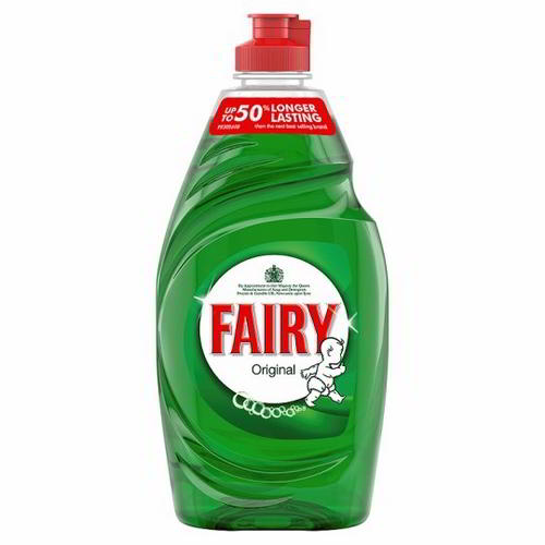 Fairy liquid washing up liquid original 10 x 433ml