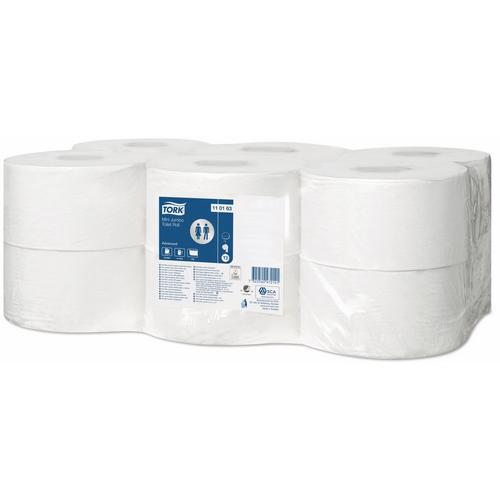 Tork Advanced Mini Jumbo Toilet Roll 1ply (T2) 110163 Eco Label