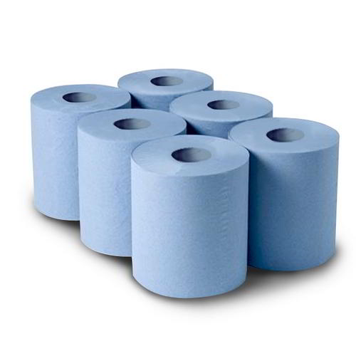 Professional Centrefeed Blue 2 Ply 6 rolls