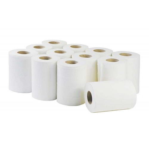 Mini centrefeed white 60m roll (12)