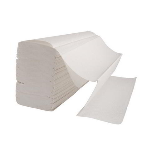 Interfold (V) white hand 2 ply towel (20x150)