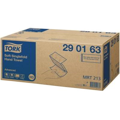 Tork Advanced Soft Singlefold  Hand Towel (H3)  290163 Eco Label