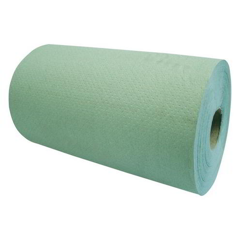 HD Industrial & Agricultural Wiper Roll Towel (12 Rolls ) Green