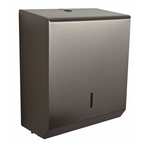 Brushed Stainless Steel Standard Paper Hand Towel Dispenser