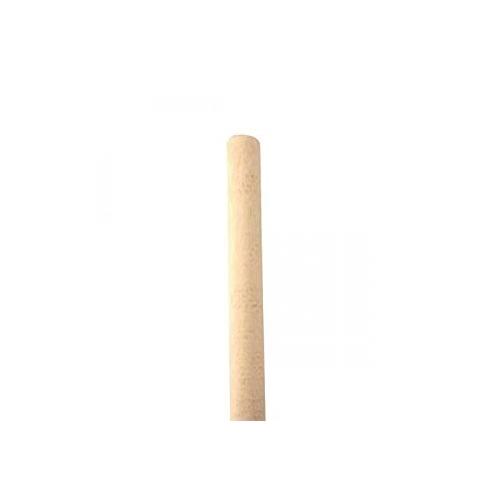 Wooden socket mop handle