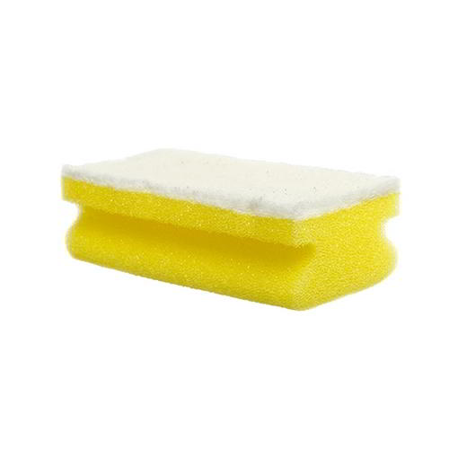 Sponge non scratch scourer (white pad) - Pack of 10
