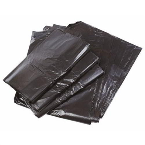 Black medium duty sacks CHSA 10kg 18 x 29 x 38 (200)