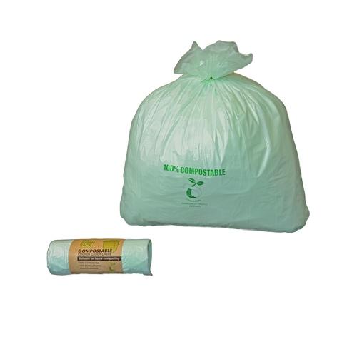 Compostable sack EN13432 natural 400 x 460mm (20x24rolls)