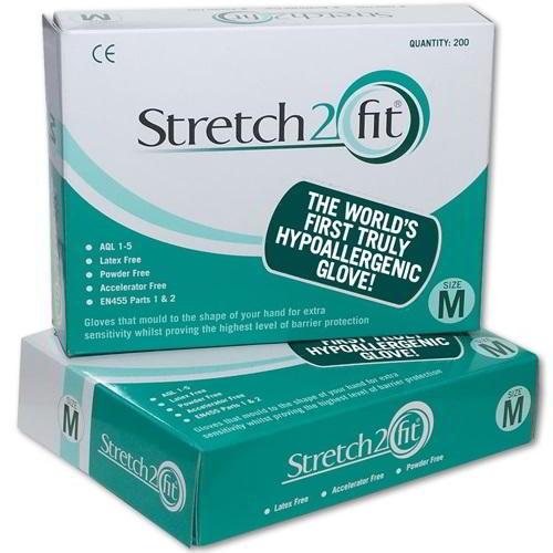 Stretch 2 Fit Hypoallergenic gloves (200)