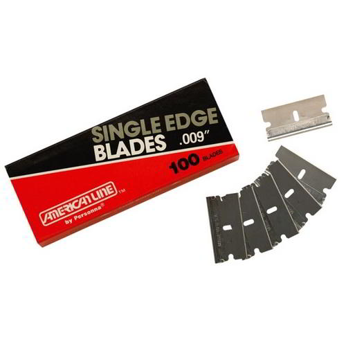 Safety scraper blades (pack of 100)