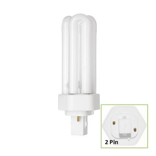 Compact Fluorescent 18W Biax T/E Triple Turn 2 Pin (10)
