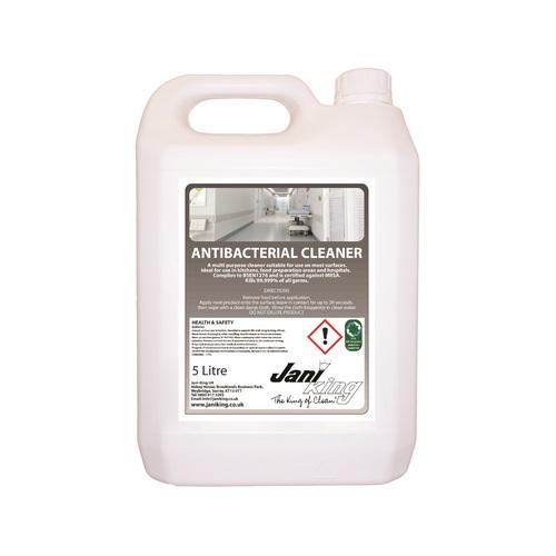 Jani King Antibacterial Cleaner  (2 x 5 Litre)