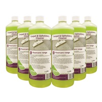 Advanced carpet & upholstery cleaner 6 x 1  Litre