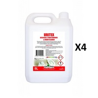 Uritex Descaler Stain remover & Drain Cleaner   4x5 Litre