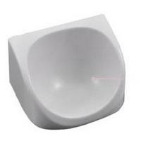 Wall mountable drip tray for sanitiser dispenser
