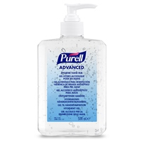Purell Advanced hygienic hand rub pump (12x500ml) 9268-12-EEU00