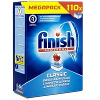 Finish Powerball Classic Dishwasher tablets (110 ) NEW PACK SIZE