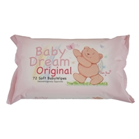 Baby Dream Baby wipes 12 packs of 72 refill wipes