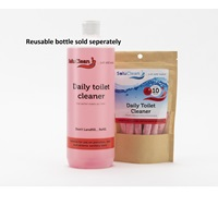 SoluClean Daily Toilet Cleaner Fragranced Red Sachet (10) SCSP1000TCP-10