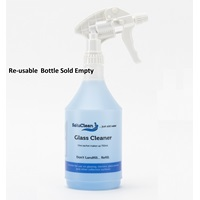 SoluClean Glass & S.Steel Cleaner Re- Usable Trigger Spray SCPPBOTTLE750GSP