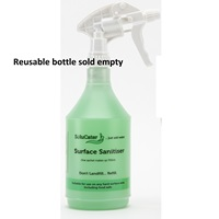 Solulime solupak Sanitiser spray bottle (green top) SCPPBOTTLE750FSP