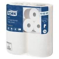 Tork conventional extra soft 200 sheet toilet roll 120240 (10x4)