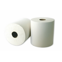 Leonardo White Laminated  2Ply Roll Towel (6) RTW175