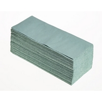 Interleaf Hand Towel 1 ply Green (5000)