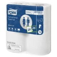 Tork Advanced 320 sheet toilet roll 100320 (9x4)