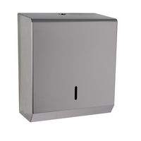 Polished Stainless Steel Standard Paper Hand Towel Dispenser