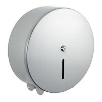 """Polished Stainless Steel Jumbo Toilet roll dispenser 12"""""""