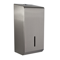 Brushed Stainless Steel Bulk Pack Toilet Tissue Dispenser (PL50 MBS)