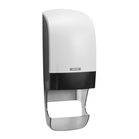 Katrin Twin system Toilet roll dispenser white with core catcher 90144 (NEW)