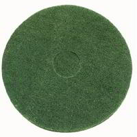 Green scrubbing floor pad - Pack of 5