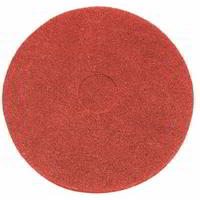 Red buffing floor pad - Pack of 5
