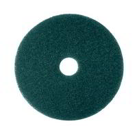 3M Green scrubbing floor pad - Pack of 5