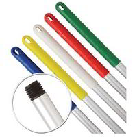Aluminium colour coded handle