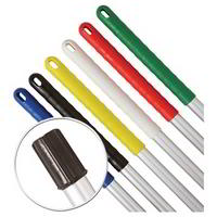 Exel Aluminium colour coded mop handle