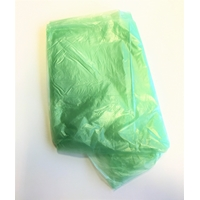 Clear Pale Green medium duty sacks  18 x 29 x 36 Sacks (500)