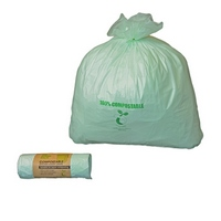 Compostable sack EN13432 natural 400 x 460mm (20x24rolls)