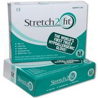 Stretch 2 Fit Hypoallergenic gloves (200)