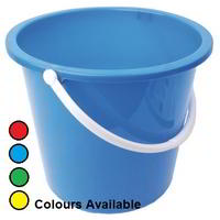 Plastic bucket 10lt colour coded